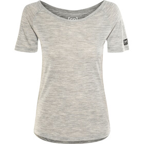 super.natural Essential Scoop Neck Dam ash melange